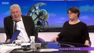 Download Batshit crazy Feminist owned in interview on UK Univerisities Video