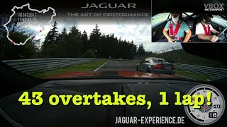 Download RUSH HOUR: 43 overtakes in ONE lap of the Nürburgring Nordschleife! Video