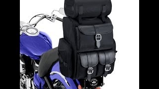 Download Extra Large Motorcycle Sissy Bar Bag Review Video