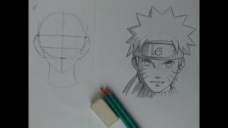 Download Tutorial de Esboço Como Desenhar qualquer personagem PASSO a PASSO Naruto Uzumaki Video