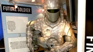Download The 'Iron Man' armor suit gives soldiers gives soldiers super-human strength Video