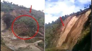 Download Massive Landslide in Arunachal Pradesh Video