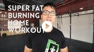 Download 10 Minute At Home Fat Burning Workout - No Equipment, for Beginners Video