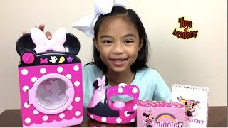 Download Disney Minnie Mouse Laundry Set Unboxing Surprises Eggs Hello Kitty Toy Story | Toys Academy Video