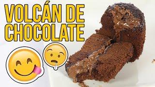 Download Cómo hacer un increíble VOLCÁN de CHOCOLATE - Experimentando en la Cocina Video
