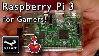 Download Raspberry Pi 3 - Steam Streaming and Retro Gaming! [Unboxing and Demonstration] Video