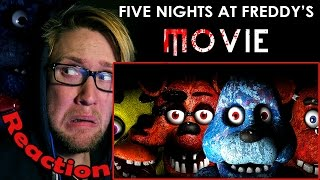 Download Five Nights At Freddy's The Movie (Fan Made) REACTION! | THEY LOOK TOO REAL!!! | Video