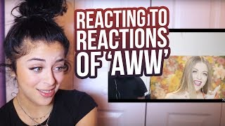 Download REACTING TO YOUR ″AWW″ REACTIONS Video