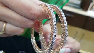 Download Diamond bangles designs Video