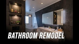 Download Remodeling the master bathroom / Oppussing av bad Video