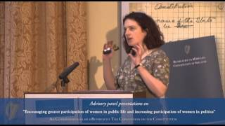 Download Prof. Yvonne Galligan and Prof Gail McElroy Presentation - Convention on the Constitution (16/02/13) Video