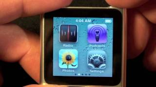 Download Apple iPod nano 2010 (6th Generation): Unboxing and Demo Video
