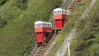 Download Leas Lift, a water and gravity powered funicular railway in Folkestone Video