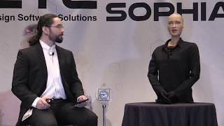 Download Sophia from Hanson Robotics talks with Shawn 2018.03.21 Video