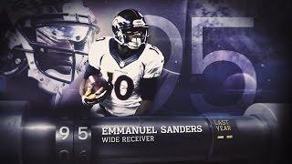 Download #95 Emmanuel Sanders (WR, Broncos) | Top 100 Players of 2015 Video