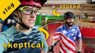 Download We took Bobo to Ray's Indoor Bike Park...and things got crazy | Syd and Macky TV Episode 3 Video