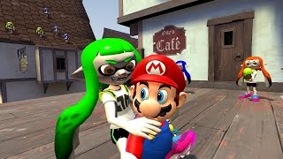 Download [Mariopalooza Collab] Mario gets disturbed by Inklings Video