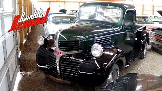 Download 1947 Dodge Pickup Truck Flathead Six 3 Spd Video