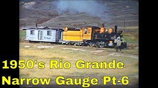 Download 1950s Rio Grande Narrow Gauge Steam Part-6 Video