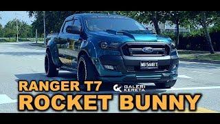 Download FORD RANGER ROCKET BUNNY by SHAM BODYKIT Video