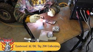 Download Eastwood AC/DC 200 Tig Welder Unboxing, Welding, and Smoke? Video