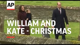 Download William, Kate, George and Charlotte spend Christmas with the Middletons Video