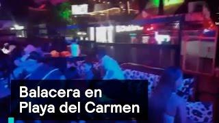 Download Balacera en Festival de música en Playa del Carmen - Las Noticias con Danielle Video