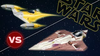 Download N1 Naboo Starfighter vs Delta 7 Jedi Starfighter | Star Wars: Who Would Win Video