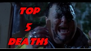 Download Top 5 Most Brutal Deaths in the Jurassic Park Movies Video