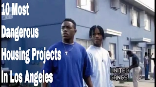 Download 10 Most Notorious Housing Projects In Los Angeles Video