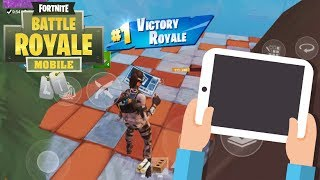 Download Fortnite Mobile / Going Pro in 30 Days ! Day 2/30 ! NEW SMG HYPE ! Video