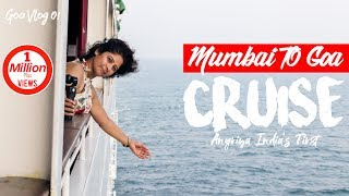 Download Mumbai To Goa Trip On Cruise | India's First Angriya Cruise | Drone Shots | 4K Video