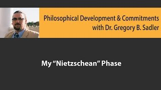 Download My ″Nietzschean Phase″ - Philosophical Development and Commitments Video