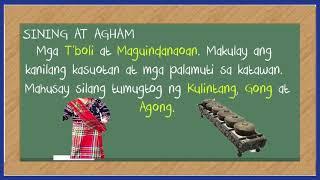 Download Kultura ng mga sinaunang Pilipino materyal Sining at Agham Video
