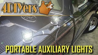 Download How to Make Portable Auxiliary Work Lights Video
