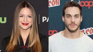 Download Supergirl's Melissa Benoist CAUGHT Kissing Costar Chris Wood Video