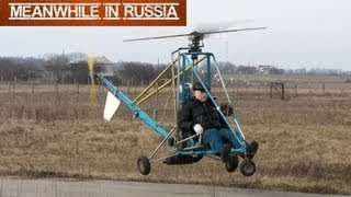 Download Russian Homemade Helicopter Video
