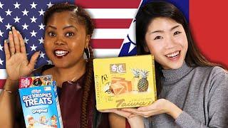 Download American & Taiwanese People Swap Snacks Video