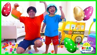 Download Easter Egg hunt Surprise Toys Challenge for Kids with Ryan ToysReview Video