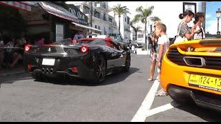 Download Puerto Banus, Marbella Supercars July 2014 | incl Zonda S | Novitec 458 Flame Spitter | Arab 458 Video
