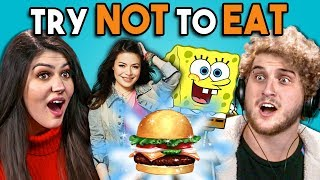 Download Try Not To Eat Challenge - Nickelodeon Food | People Vs. Food Video