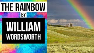 rainbow poem wordsworth