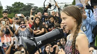 Download Activist Greta Thunberg on how to make sure the word does not 'give up' the climate fight Video