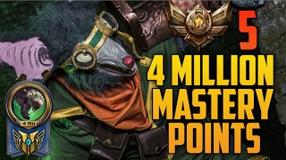 Download Bronze 5 TWITCH 4,000,000 MASTERY POINTS- Spectate Highest Mastery Points on Twitch Video