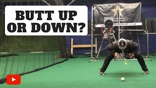 Download Butt Up or Down When Fielding? Video