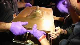 Download Time capsule from 1914 opened in the US Video