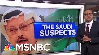 Download How Jamal Khashoggi's Murder Suspects Are Tied To The Saudi Crown Prince | Velshi & Ruhle | MSNBC Video
