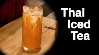 Download Thai Iced Tea ชาเย็น - Hot Thai Kitchen! Video