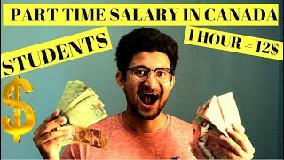 Download International Student Salary in Canada | Part time Job salary in Canada Video