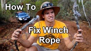 Download Snapped My 4x4 Winch Rope Video